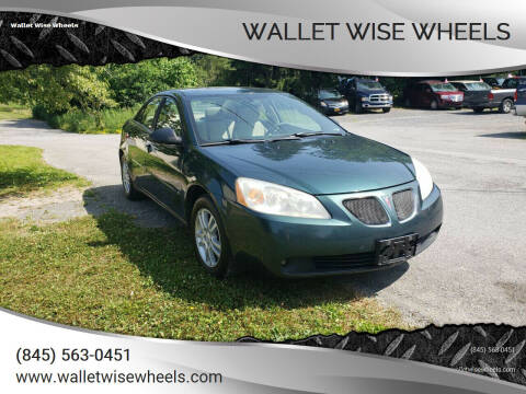 2006 Pontiac G6 for sale at Wallet Wise Wheels in Montgomery NY