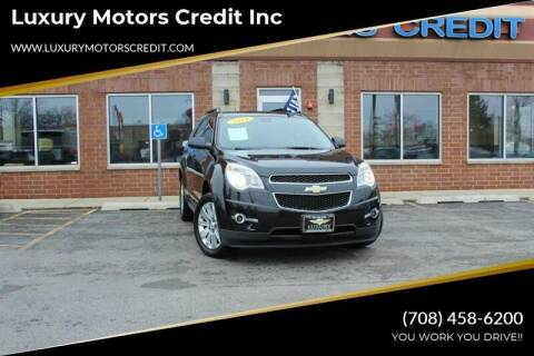 2010 Chevrolet Equinox for sale at Luxury Motors Credit Inc in Bridgeview IL