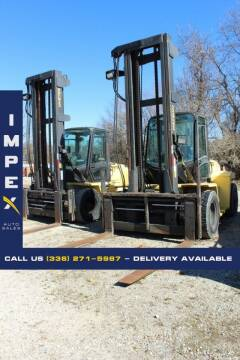 2002 HYSTER H250HD for sale at Impex Auto Sales in Greensboro NC