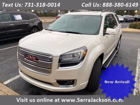 2015 GMC Acadia for sale at Serra Of Jackson in Jackson TN