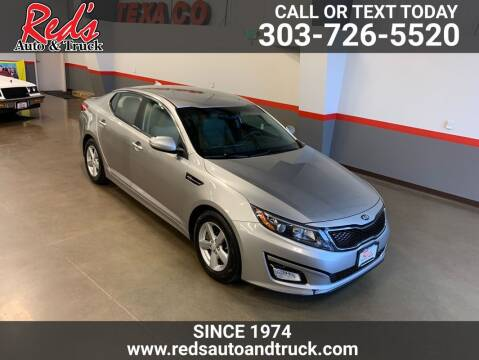 2014 Kia Optima for sale at Red's Auto and Truck in Longmont CO