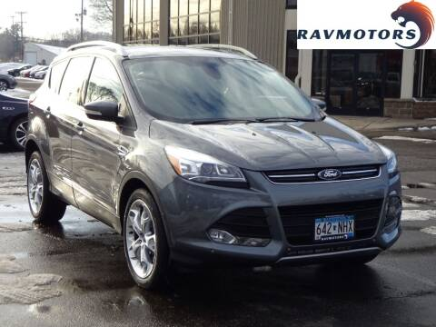 2014 Ford Escape for sale at RAVMOTORS 2 in Crystal MN