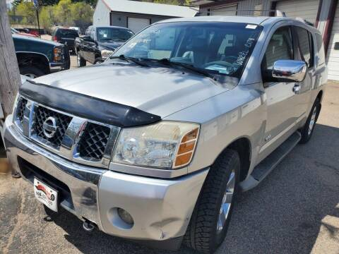 2007 Nissan Armada for sale at Extreme Auto Sales LLC. in Wautoma WI