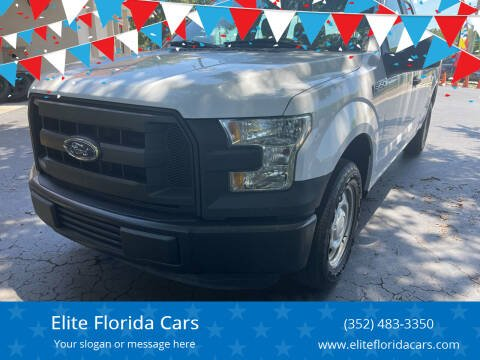 2015 Ford F-150 for sale at Elite Florida Cars in Tavares FL