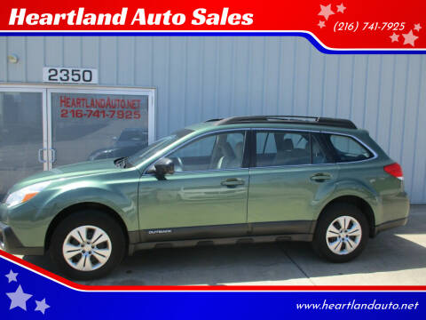 2013 Subaru Outback for sale at Heartland Auto Sales in Medina OH