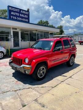 2004 Jeep Liberty for sale at Right Away Auto Sales in Colorado Springs CO