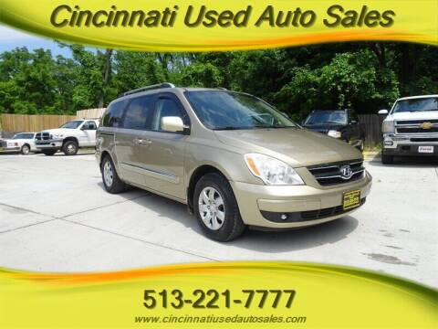 2007 Hyundai Entourage for sale at Cincinnati Used Auto Sales in Cincinnati OH