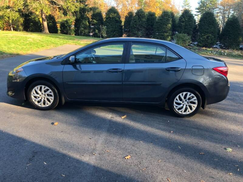 2017 Toyota Corolla for sale at DON'S AUTO SALES & SERVICE in Belchertown MA