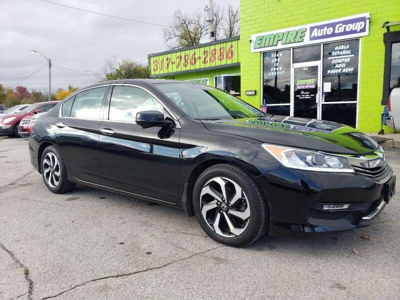 2016 Honda Accord for sale at Empire Auto Group in Indianapolis IN