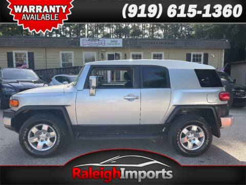 2008 Toyota FJ Cruiser for sale at Raleigh Imports in Raleigh NC