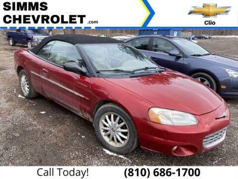 2002 Chrysler Sebring for sale at Aaron Adams @ Simms Chevrolet in Clio MI