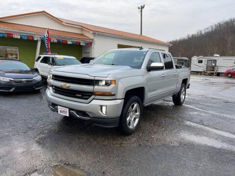 2017 Chevrolet Silverado 1500 for sale at PIONEER USED AUTOS & RV SALES in Lavalette WV