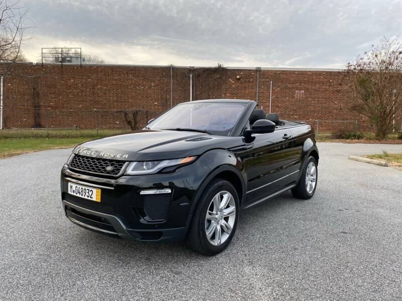 2017 Land Rover Range Rover Evoque Convertible for sale at RoadLink Auto Sales in Greensboro NC
