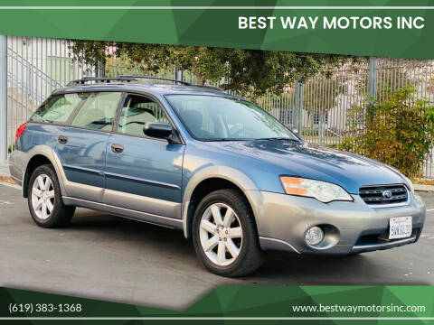 2006 Subaru Outback for sale at BEST WAY MOTORS INC in San Diego CA