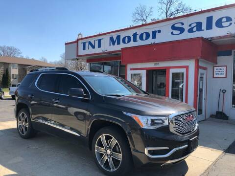 2017 GMC Acadia for sale at TNT Motor Sales in Oregon IL