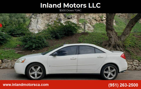 2007 Pontiac G6 for sale at Inland Motors LLC in Riverside CA