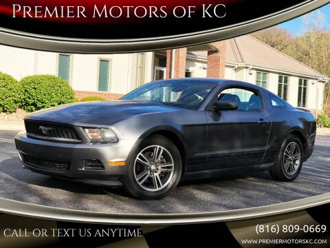 2011 Ford Mustang for sale at Premier Motors of KC in Kansas City MO