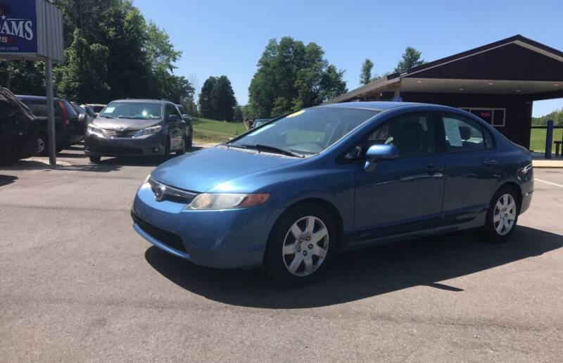 2007 Honda Civic for sale at Sam Adams Motors in Cedar Springs MI