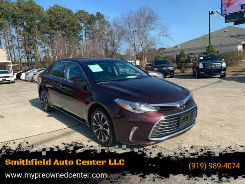 2018 Toyota Avalon for sale at Smithfield Auto Center LLC in Smithfield NC