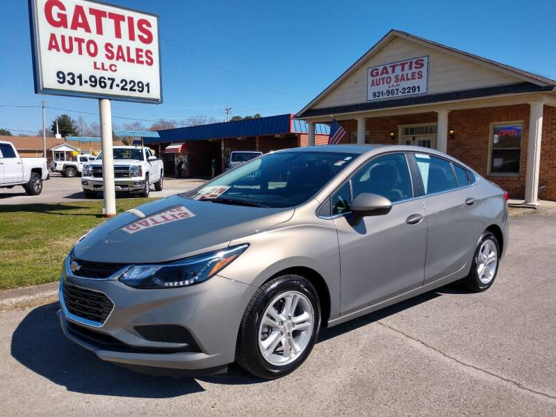 2018 Chevrolet Cruze for sale at Gattis Auto Sales LLC in Winchester TN
