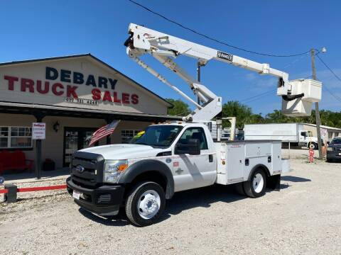 2012 Ford F-450 Super Duty for sale at DEBARY TRUCK SALES in Sanford FL