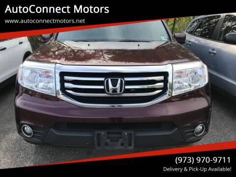 2015 Honda Pilot for sale at AutoConnect Motors in Kenvil NJ