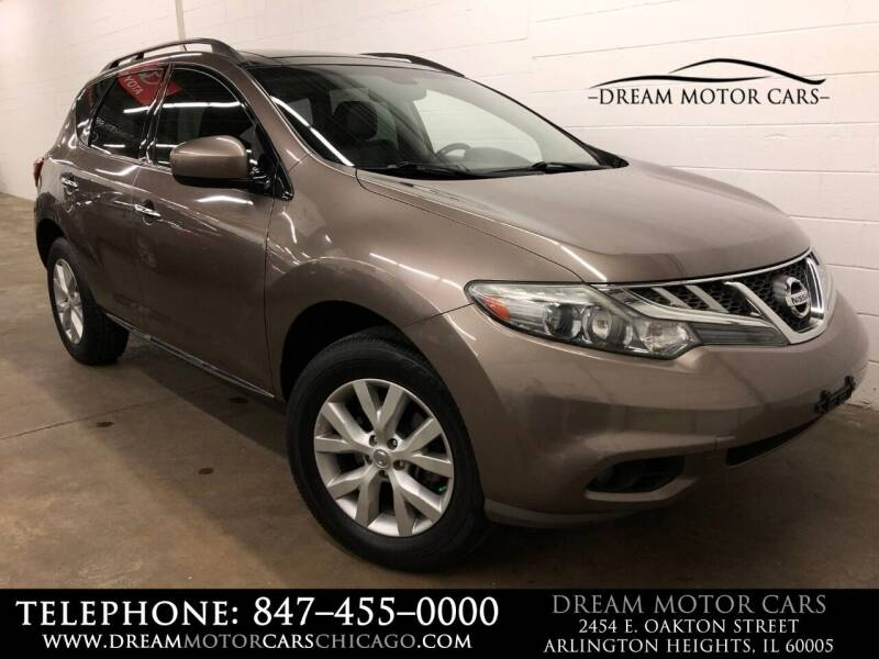 2012 Nissan Murano for sale at Dream Motor Cars in Arlington Heights IL