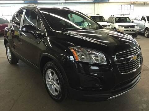2015 Chevrolet Trax for sale at John Warne Motors in Canonsburg PA
