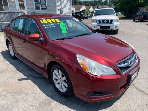 2011 Subaru Legacy for sale at Automotion Auto Sales Inc in Kingston NY