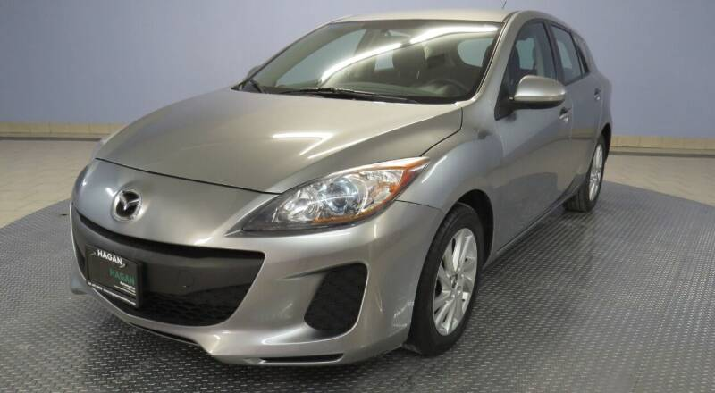 2013 Mazda MAZDA3 for sale at Hagan Automotive in Chatham IL
