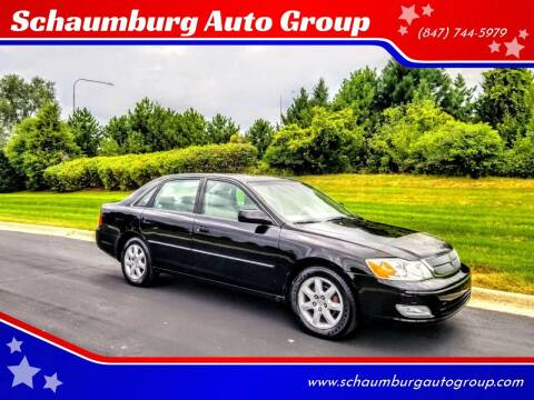 2000 Toyota Avalon for sale at Schaumburg Auto Group in Schaumburg IL