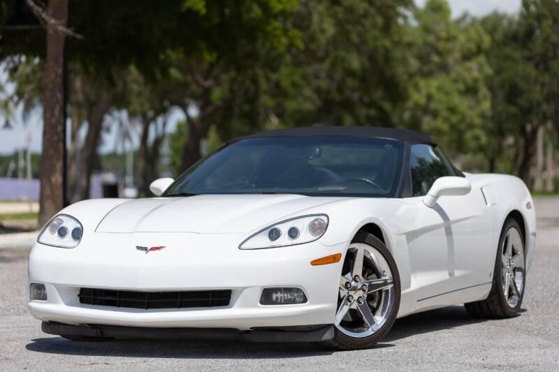 2007 Chevrolet Corvette for sale at PAUL YODER AUTO SALES INC in Sarasota FL