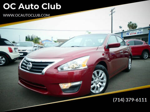 2015 Nissan Altima for sale at OC Auto Club in Midway City CA
