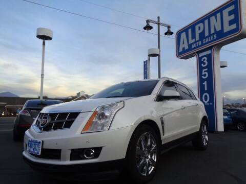 2012 Cadillac SRX for sale at Alpine Auto Sales in Salt Lake City UT
