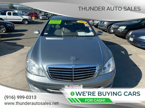 2007 Mercedes-Benz S-Class for sale at Thunder Auto Sales in Sacramento CA