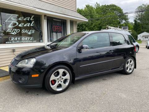 2008 Volkswagen GTI for sale at Real Deal Auto Sales in Auburn ME