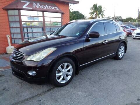 2009 Infiniti EX35 for sale at Z MOTORS INC in Hollywood FL
