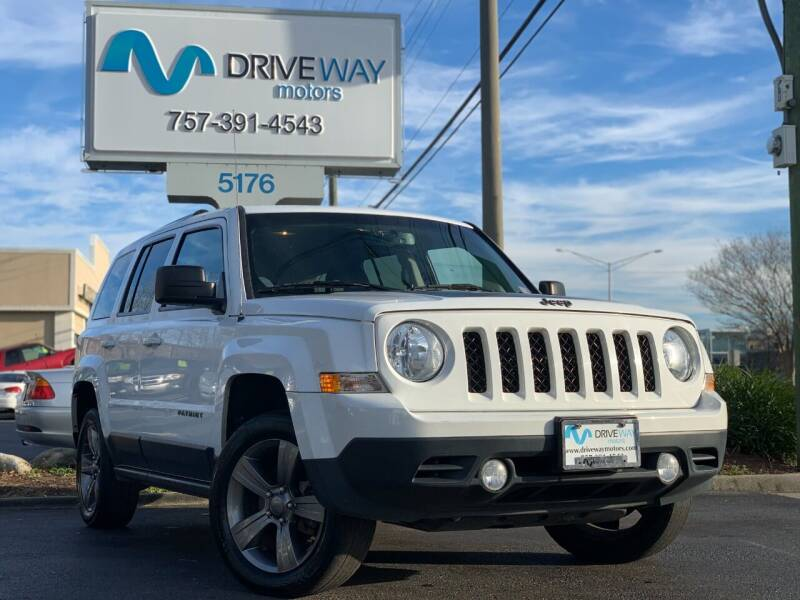 2016 Jeep Patriot for sale at Driveway Motors in Virginia Beach VA