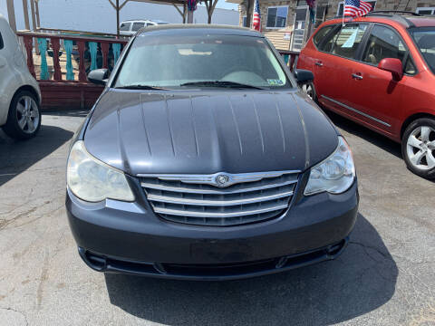 2008 Chrysler Sebring for sale at JORDAN AUTO SALES in Youngstown OH