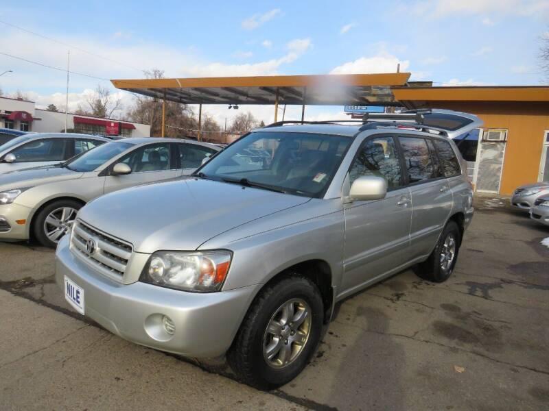 2006 Toyota Highlander for sale at Nile Auto Sales in Denver CO