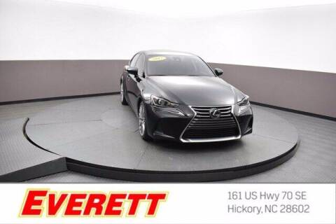 2017 Lexus IS 200t for sale at Everett Chevrolet Buick GMC in Hickory NC