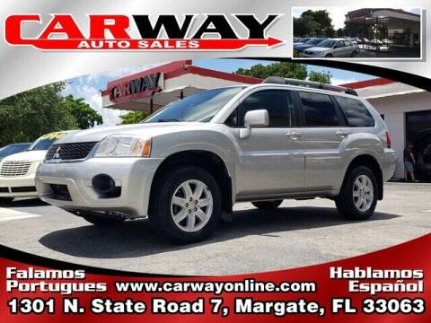 2011 Mitsubishi Endeavor for sale at CARWAY Auto Sales in Margate FL