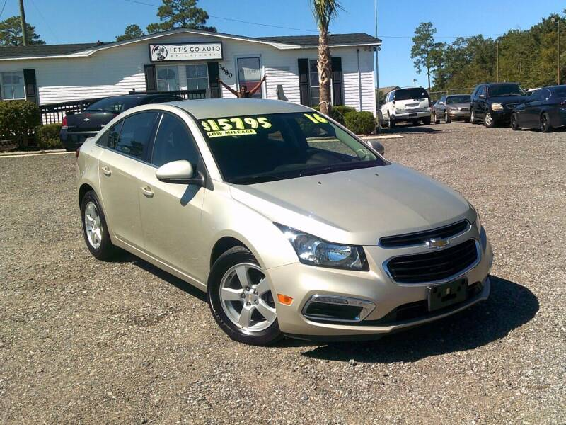 2016 Chevrolet Cruze Limited for sale at Let's Go Auto Of Columbia in West Columbia SC