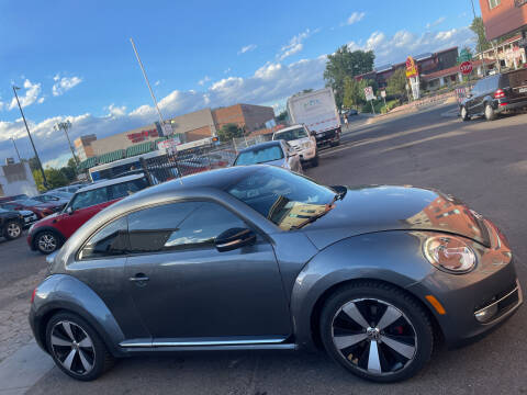 2012 Volkswagen Beetle for sale at Sanaa Auto Sales LLC in Denver CO