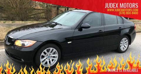 2006 BMW 3 Series for sale at Judex Motors in Loganville GA