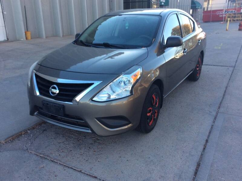 2015 Nissan Versa for sale at AROUND THE WORLD AUTO SALES in Denver CO