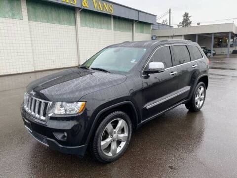 2012 Jeep Grand Cherokee for sale at TacomaAutoLoans.com in Tacoma WA
