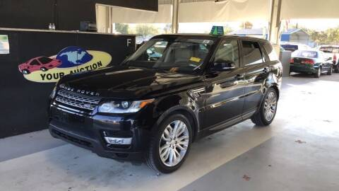 2017 Land Rover Range Rover Sport for sale at LUXURY IMPORTS AUTO SALES INC in North Branch MN