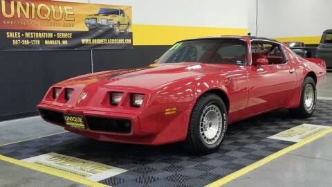 1981 Pontiac Firebird for sale at UNIQUE SPECIALTY & CLASSICS in Mankato MN