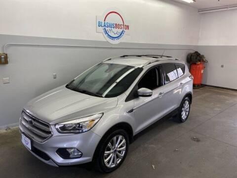 2017 Ford Escape for sale at WCG Enterprises in Holliston MA